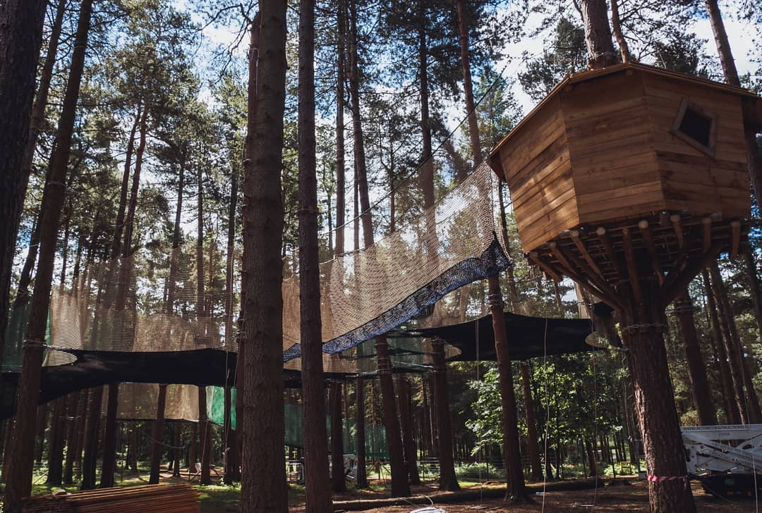 Nets Kingdom At Sherwood Pines Forestry England
