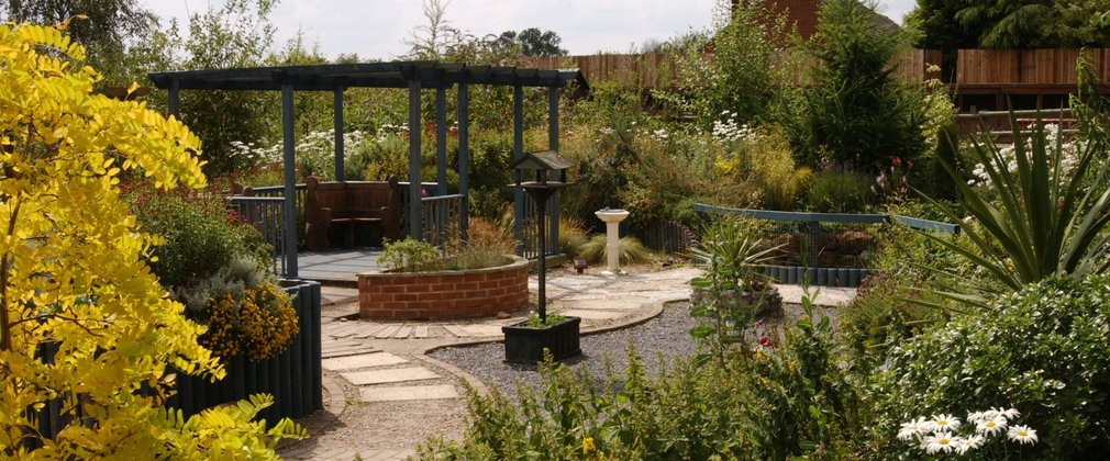 Sensory garden at Rosliston