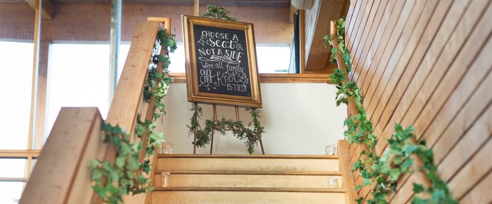 Dalby weddings staircase