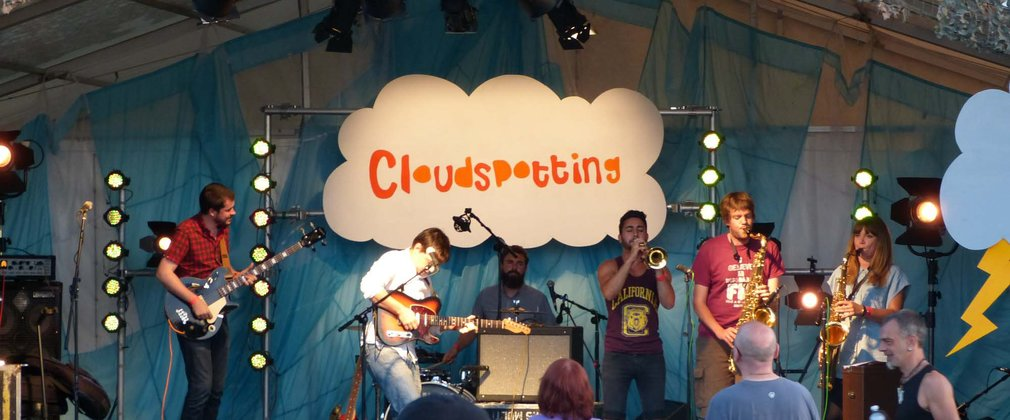Cloudspotting Festival, live music gig at Gisburn Forest