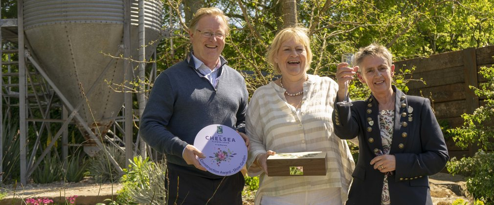 Chelsea Flower Show award - The Resilience Garden