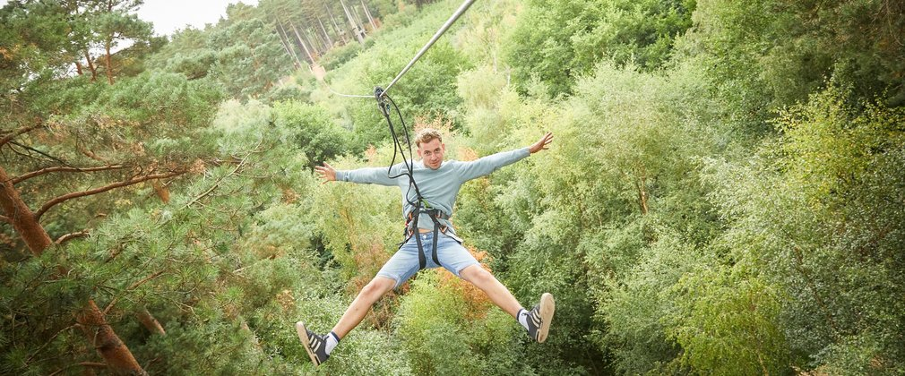 Go Ape tree top adventure Cannock Chase