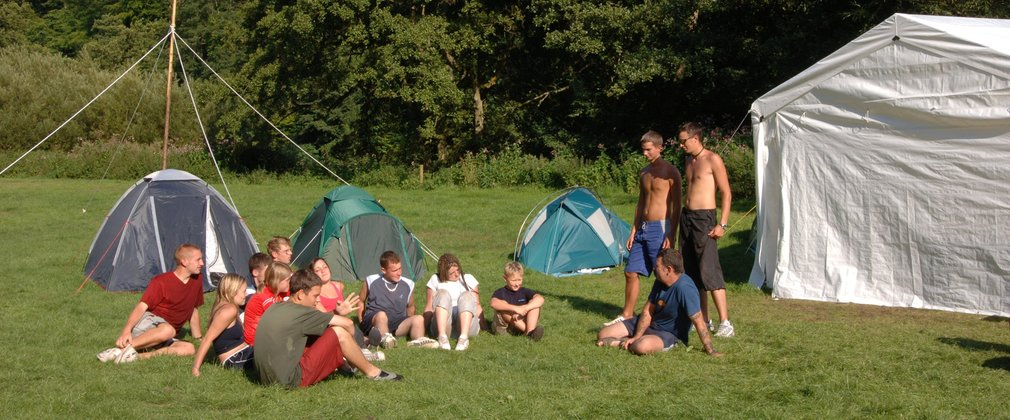 Camping at Dalby Forest