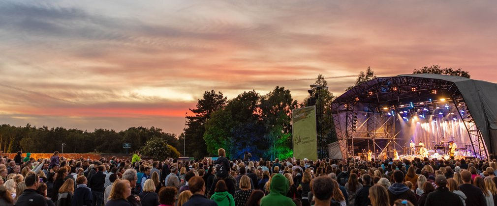 Bedgebury National Pinetum and Forest summer concert Forest Live