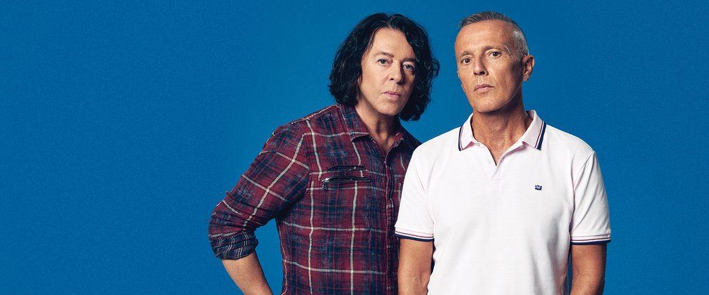 Tears For Fears Roland Orzabal and Curt Smith Forest Live