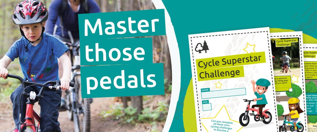 Master those pedals with the cycle superstar challenge