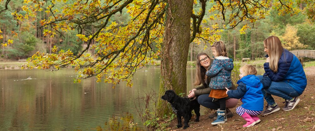 Forest of Dean lake family