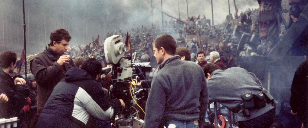 Filming of Gladiator, Bourne Wood