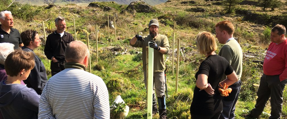 Hardknott volunteers Grizedale