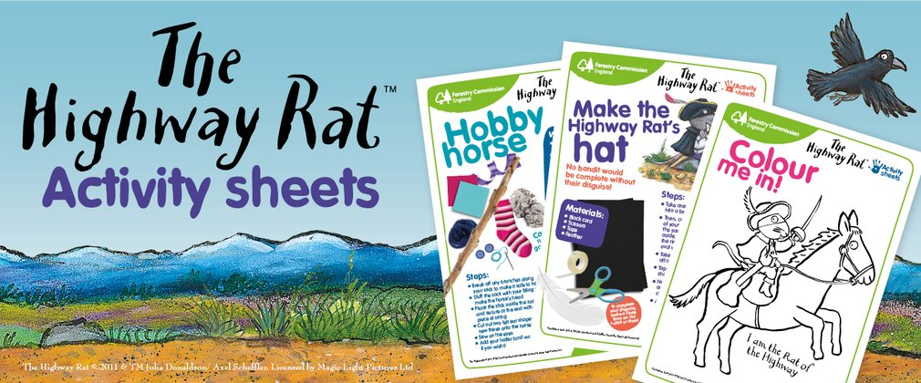 Highway rat activity sheet examples