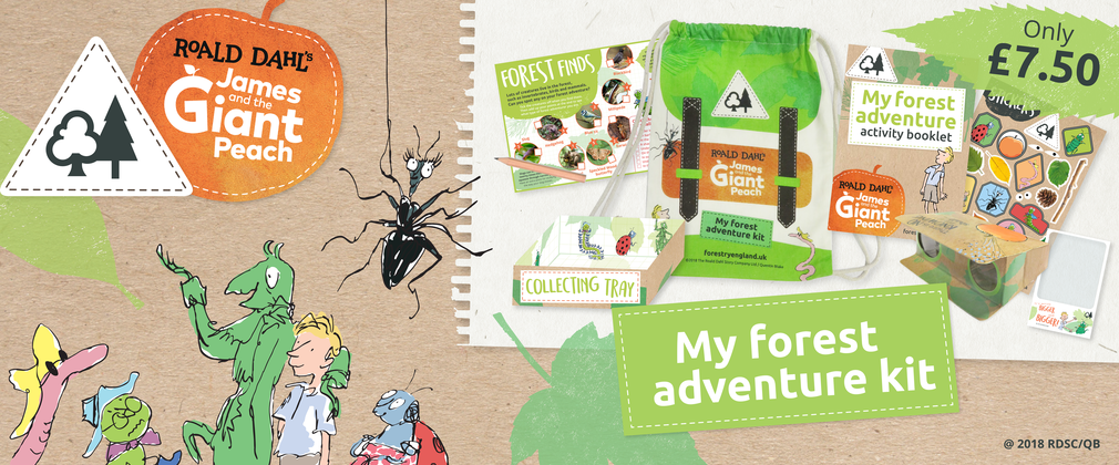 James & The Giant Peach forest adventure kit