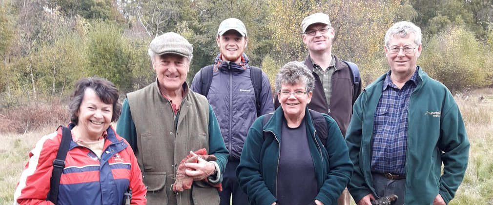Volunteers at Savernake Forest