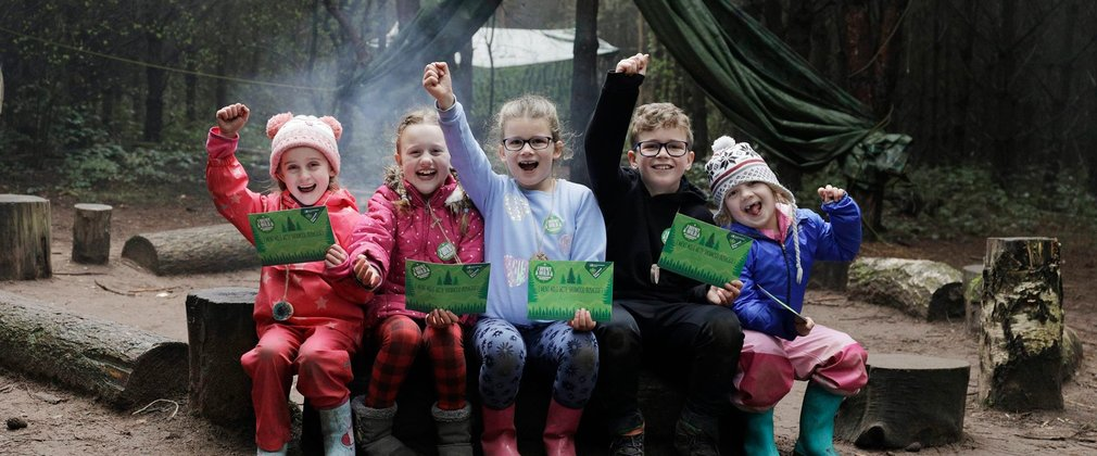 Bushcraft for Families Sherwood Pines
