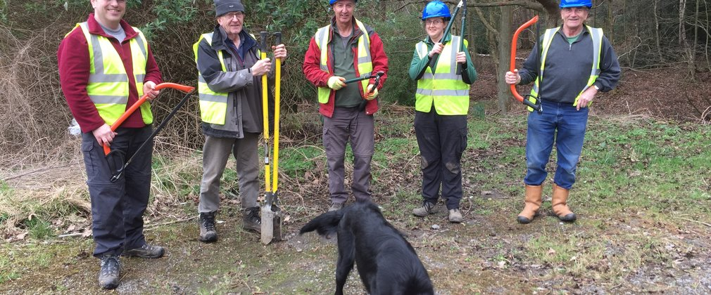 Friends of Chopwell Volunteering group