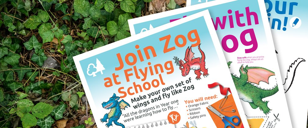Zog Activity Sheets - No.1