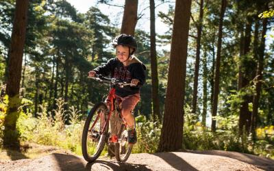 child friendly cycling page