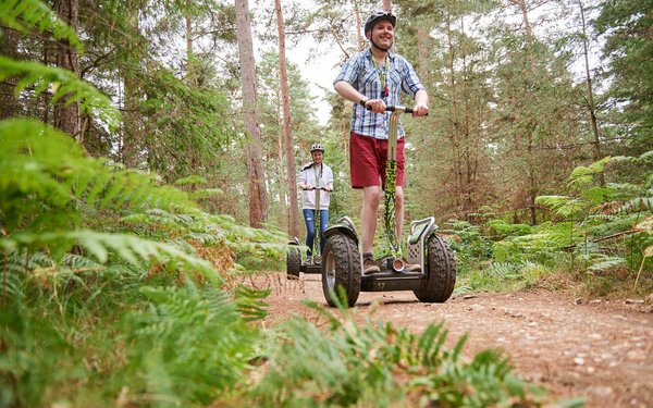 Go ape forest segway high lodge