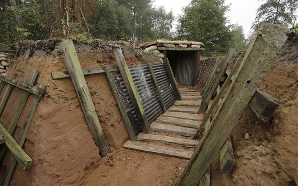 Trenches at Sherwood Pines