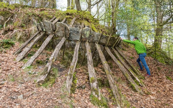 Grizedale Cliff Structure, Richard Harris