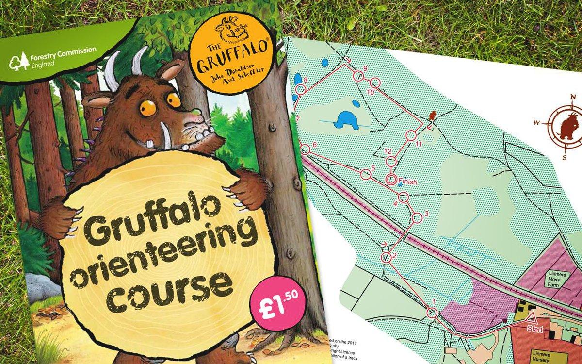 gruffalo orienteering pack.