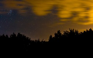 Night sky at Gisburn