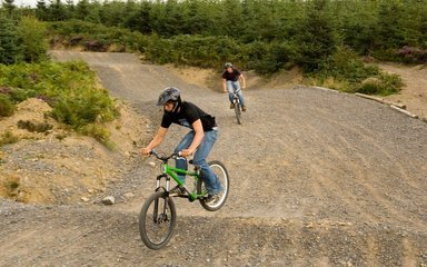 Descend mountain biking at Hamsterley Forest