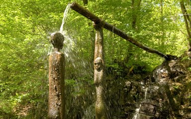 Grizedale Scuplture Lady of Water