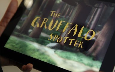 Gruffalo Spotters App for use on the Grufflo themed forest trail