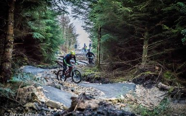 Mountain biking in Hamsterley Forest