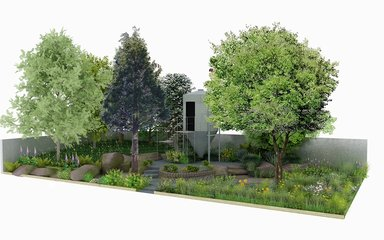 Digital visualisation of the Resilience Garden