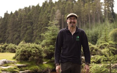 Community Ranger Tim, at Bellever Forest