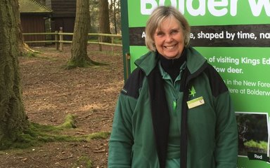 Jane - Big Forest Find volunteer