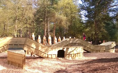 play area at Moors Valley