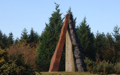 The Roll of Honour Sculpture at New Fancy, Forest of Dean