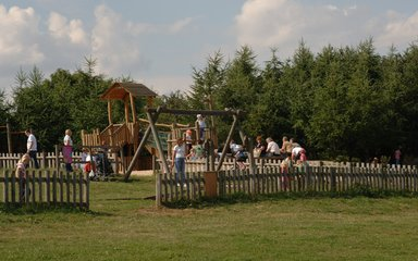 Adventure play area at Rosliston Forest, The National Forest