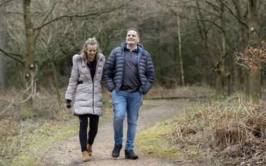 Couple Walking Sherwood Pines