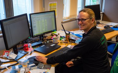 Alison, Database & Records Officer at Westonbirt