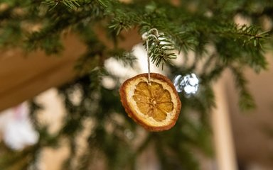 Sustainable Christmas tree decorations