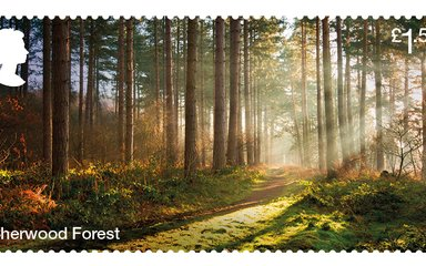 Sherwood Forest stamp